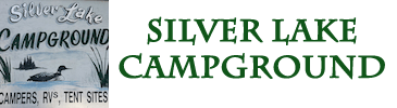 Silver Lake Campground and Lodge Logo